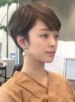 ☆短くても女性らしい☆フレンチショート(髪型ショートヘア)