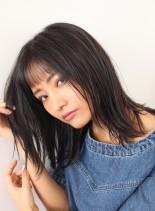 カッコ可愛い☆外ハネミディアム(髪型ミディアム)