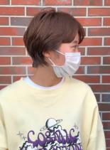 ぽってりフレンチショート(髪型ショートヘア)