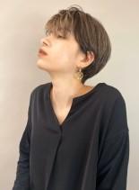 大人綺麗なスタイリッシュショートヘア(髪型ショートヘア)