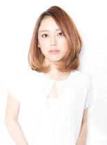 辛口ハンサムミディ♪(髪型ミディアム)