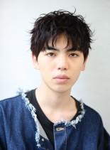 トレンド髪型 外国人風メンズパーマ(髪型メンズ)