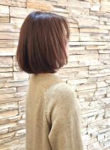 30代40代 小顔ショートボブ(髪型ボブ)
