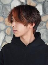 BTS風 ☆ センターパート(髪型メンズ)
