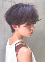 絶壁解消☆ショートパーマ(髪型ショートヘア)