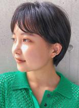 丸み○マッシュ(髪型ショートヘア)