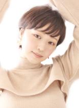 大人かわいいベリーショート(髪型ショートヘア)