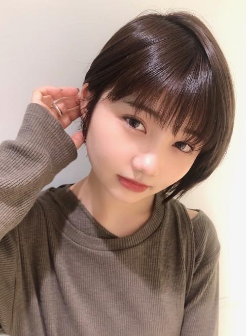 大人可愛い小顔ショートボブ☆(ビューティーナビ)