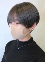 ミニマムマッシュショート(髪型ショートヘア)