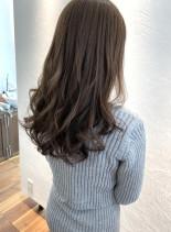 オトナ可愛いレイヤーロング(髪型ロング)