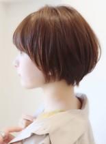 30代40代の大人女性におすすめショート(髪型ショートヘア)