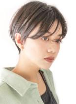 大人モードのマニッシュショート/30代(髪型ショートヘア)