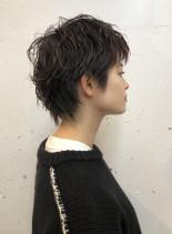 ショートウルフ(髪型ショートヘア)