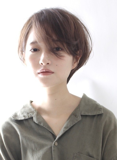 ふんわりパーマ☆大人のショートボブ(ビューティーナビ)