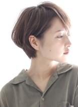 ふんわりパーマ☆大人のショートボブ(髪型ショートヘア)