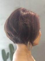 ボブグラデーション(髪型ショートヘア)