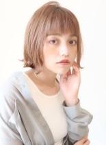 外ハネミニボブ(髪型ボブ)