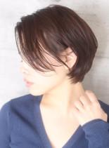 40代50代大人の丸みくびれショート☆(髪型ショートヘア)