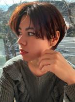 森星風ショートヘア(髪型ショートヘア)