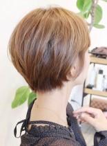 すっきり可愛いショートスタイル(髪型ショートヘア)