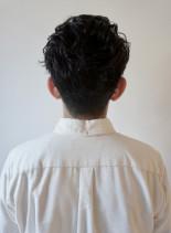 メンズ刈り上げツーブロックショートヘア(髪型メンズ)