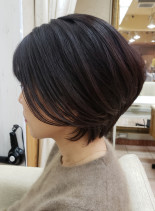 30代40代50代◎大人レイヤーショート(髪型ショートヘア)