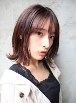 ふんわり外ハネボブ(髪型ボブ)