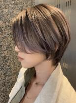 30代40代50代小顔くびれショート(髪型ショートヘア)