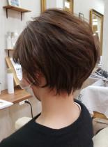30代40代大人カッコいいくびれショート(髪型ショートヘア)