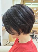 40代50代◎スタイリッシュ大人ショート(髪型ショートヘア)