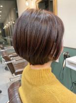 ふんわりショートボブ(髪型ショートヘア)