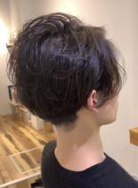 エアリーナチュラルパーマ(髪型メンズ)