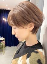 小顔効果☆いまどきショートヘア☆(髪型ショートヘア)