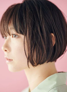 人気ランキング春髪ショートボブ(ビューティーナビ)
