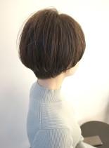40代からの大人マッシュショート(髪型ショートヘア)