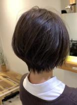 大人くびれボブ(髪型ショートヘア)