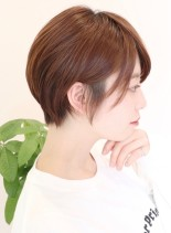 大人可愛いショートカット(髪型ショートヘア)