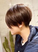 カッコかわいいショートカット(髪型ショートヘア)