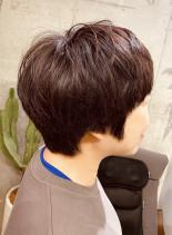 ナチュラル大人ショートヘア(髪型ショートヘア)
