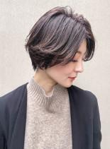 キレイめ大人ショートスタイル(髪型ショートヘア)