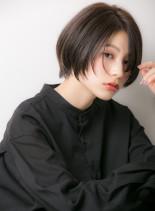 大人の抜け感センシュアルハンサムショート(髪型ショートヘア)