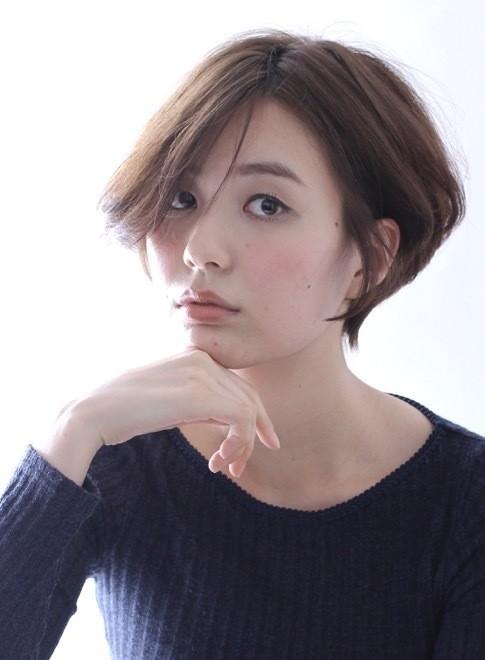 くせ毛風パーマ☆大人のショートボブ(ビューティーナビ)