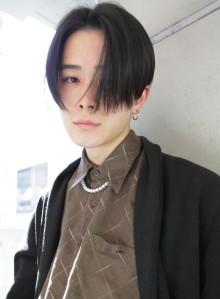 成田凌風センターパートメンズショート