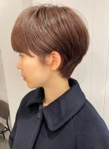 耳掛けがカワイイ♪コンパクトショート(髪型ショートヘア)