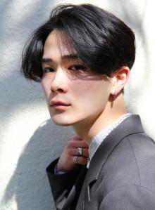 韓国風大人のメンズパーマショート