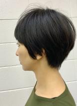 30代40代大人ショートカット(髪型ショートヘア)