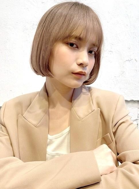 乾かすだけ☆シンプルボブ☆(ビューティーナビ)