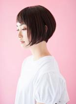 バランス抜群なグラデーションボブ(髪型ショートヘア)