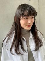 髪質改善トリートメント×ポイントアレンジ(髪型ロング)
