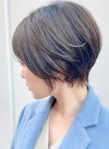 倉科カナさん風☆小顔ひし形ショートボブ(髪型ショートヘア)